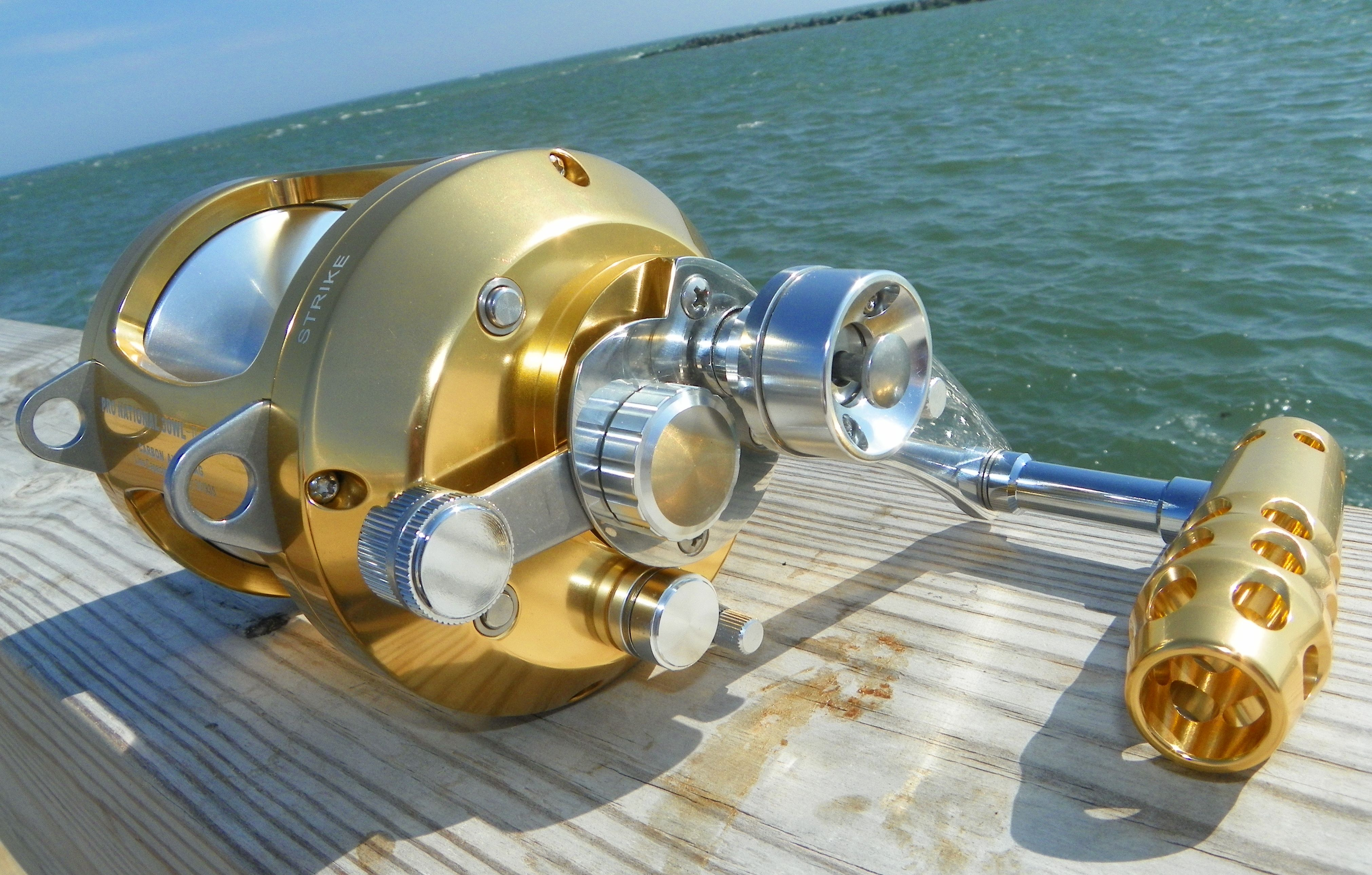 Okiaya pro national 50w ii 2 speed saltwater reel for Tuna fishing reels