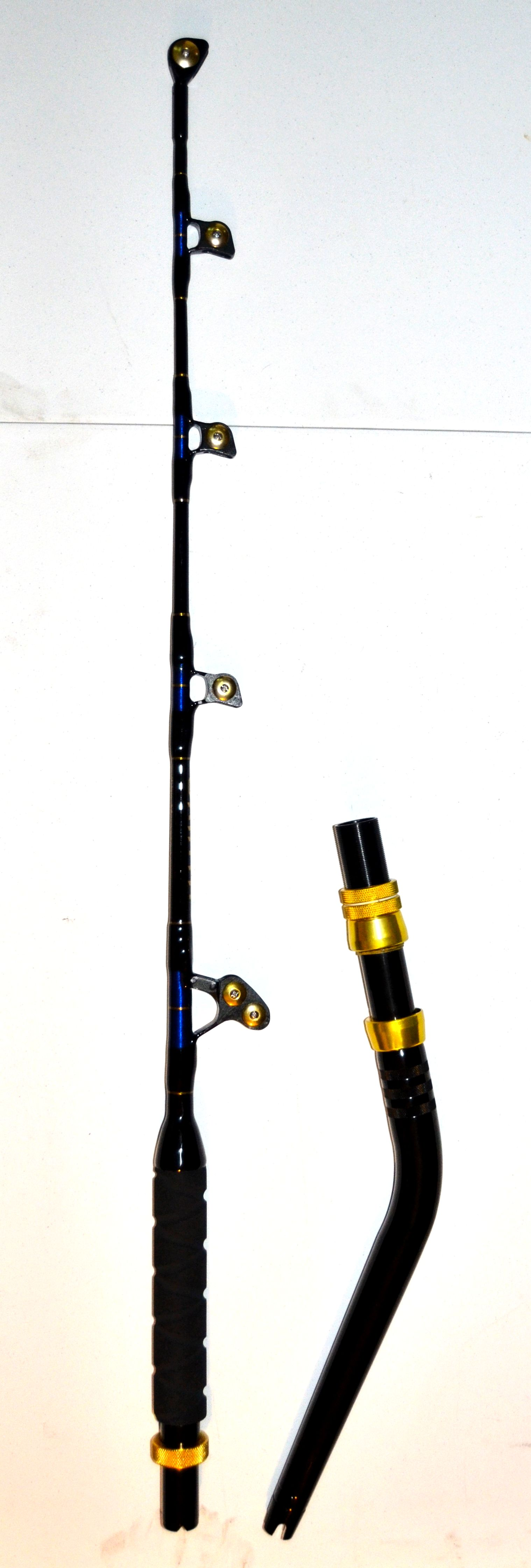Okiaya saltwater fishing rods 80 100lb for Offshore fishing rods