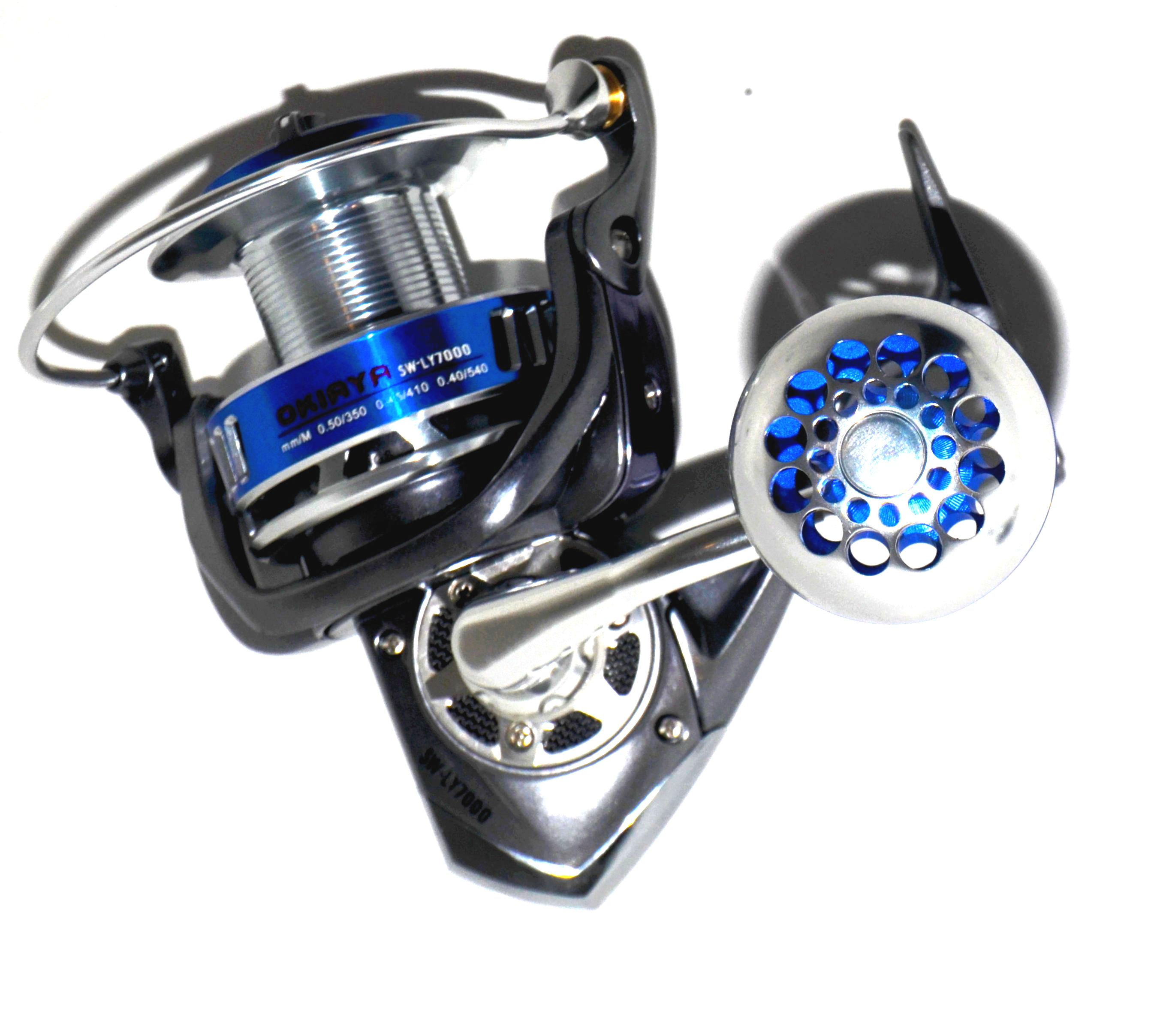 Okiaya sistana 7000 saltwater spinning fishing reel for Used saltwater fishing reels for sale
