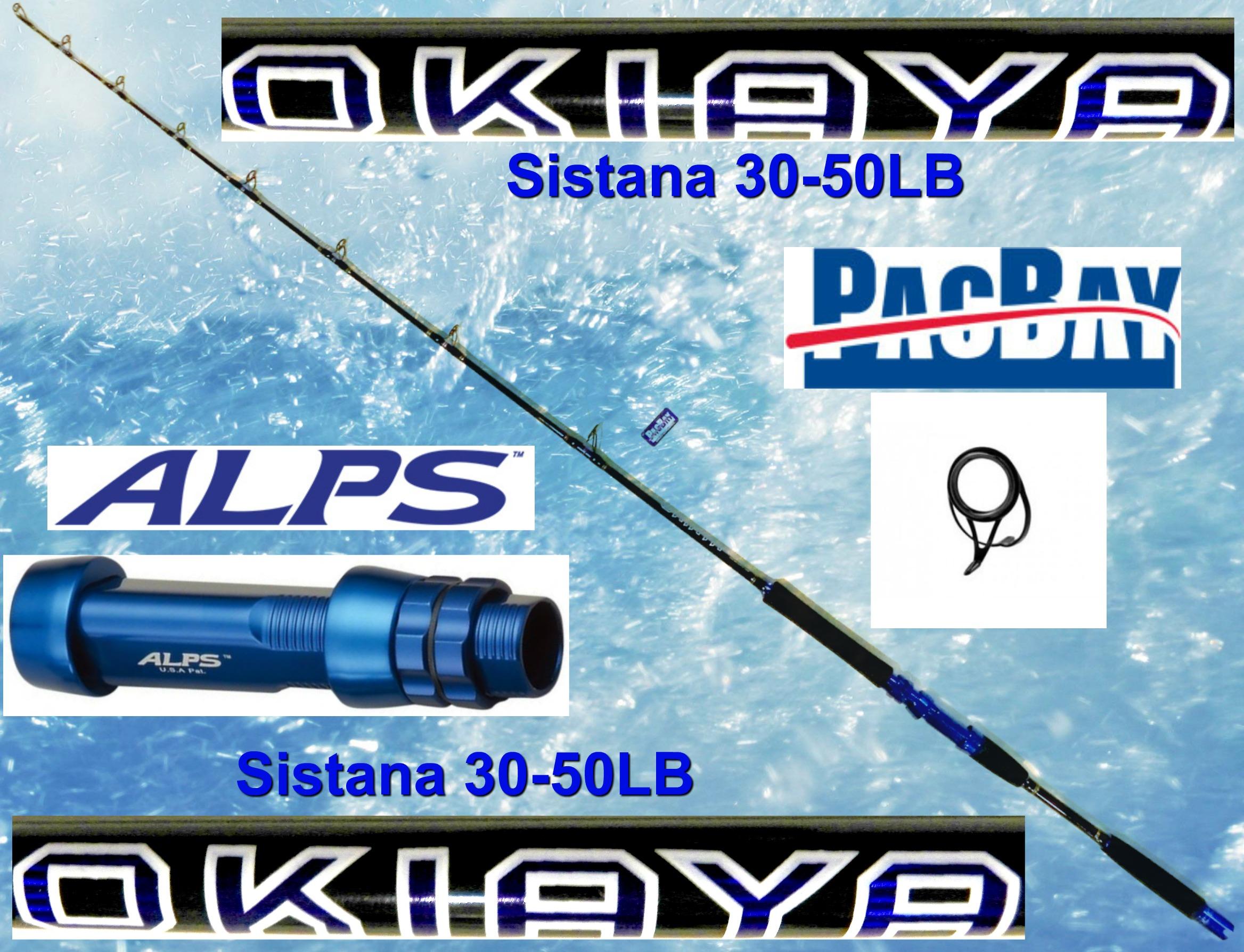 Rods | Okiaya Fishing Rods | Big Game Fishing Equipment